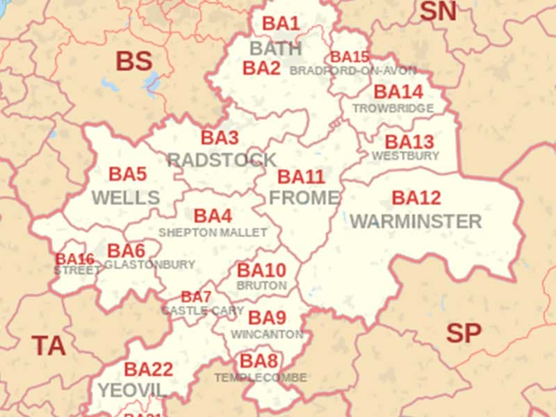 ba locations on a map